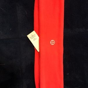 cute Coral lululemon headband In good condition